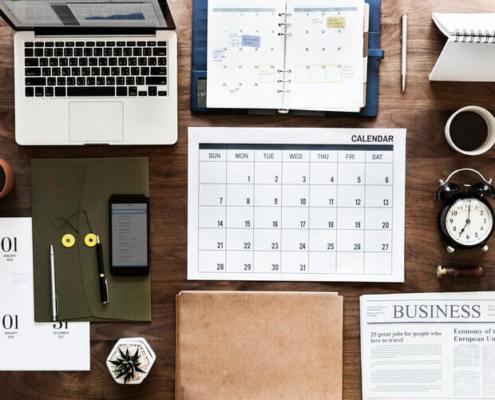 kako najti čas za pisanje prispevkov