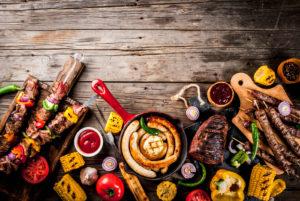 Na žaru lahko pripravljate tudi zdrave jedi