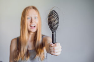 močno izpadanje las